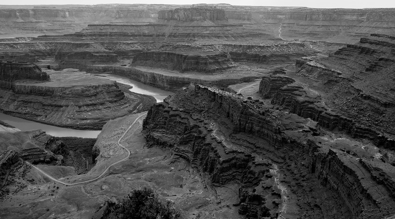 Deep in time above the Colorado River