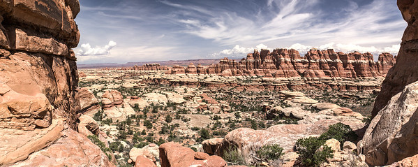 Chesler Park overview Canyonlands National Park