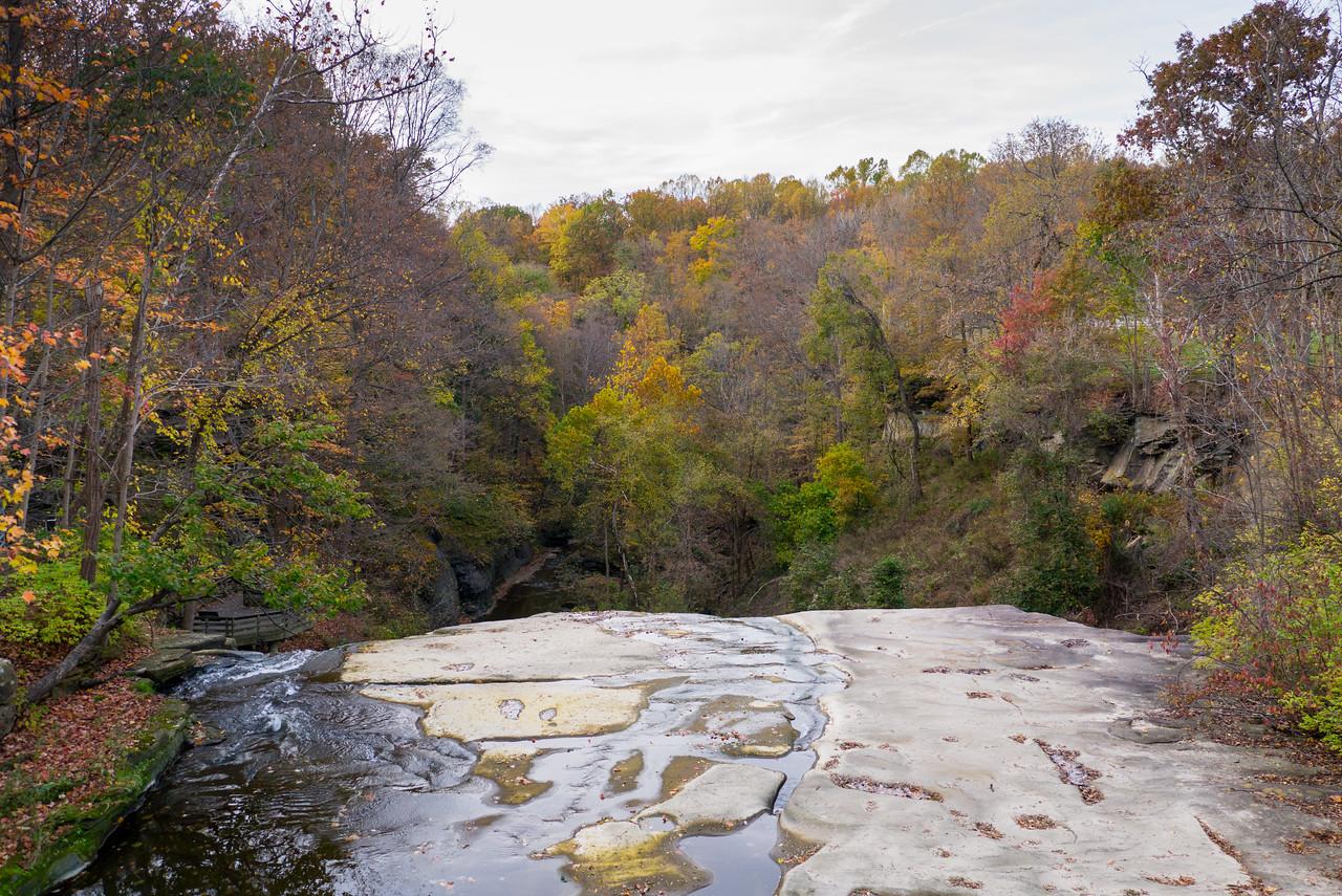 Top of Brandyvine Falls