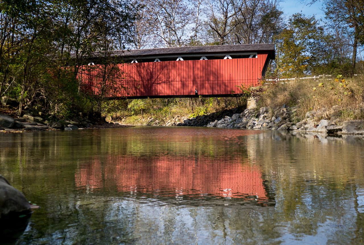 Everett Road Covered Bridge Cuyahoga National Park