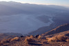 Sunset on Death Valley from Dante's Viewpoint.