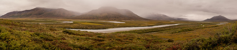 Noatak River Valley from Nigikpalvgururvrak Creek