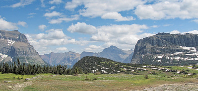Logan Pass looking SE