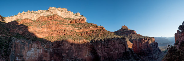 Sunrise on The Bright Angel Trail