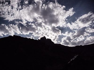 Grand Canyon Moonset Star Shine