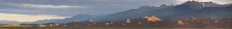 Sunrise over the Great Sand Dunes