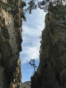 Devils Hall, Pine Canyon