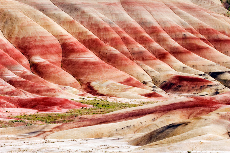 Painted Hills district of the John Day Fossil Beds National Mounument.