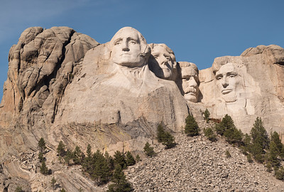 Washington, Jefferson, Roosevelt and Lincoln