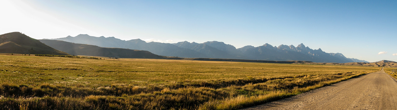 Tetons from Elk Refuge