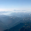 Mt Rainier, Mount St Helens and Mt Adams