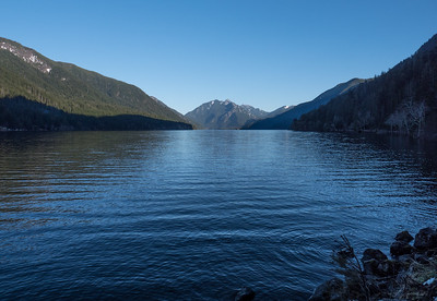 Across Lake Crescent to Storm King
