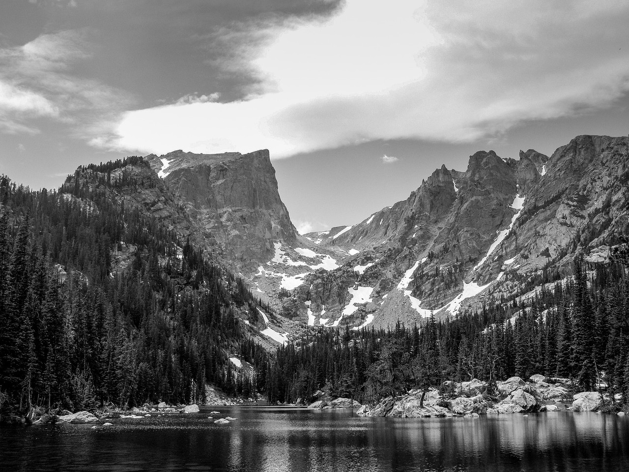 Mt Moran Rocky Mountain National Park
