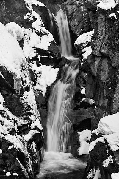 Christine Falls, along Paradise Road, Rainier National Park.