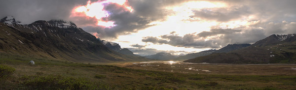 Skolai Base Camp Sunset