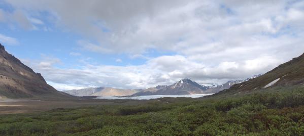 Russell Glacier Skolai Pass