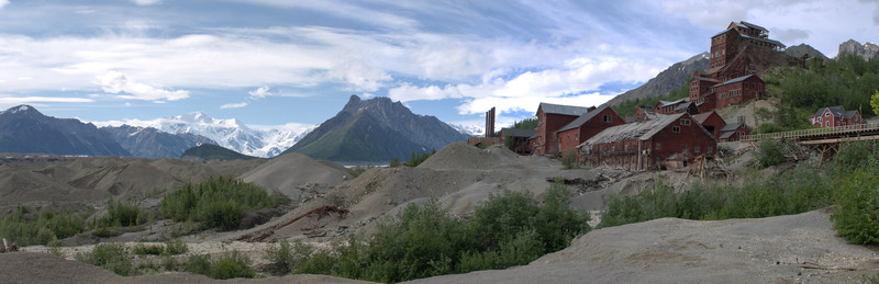 Kennecott Mill And Mt Blackburn