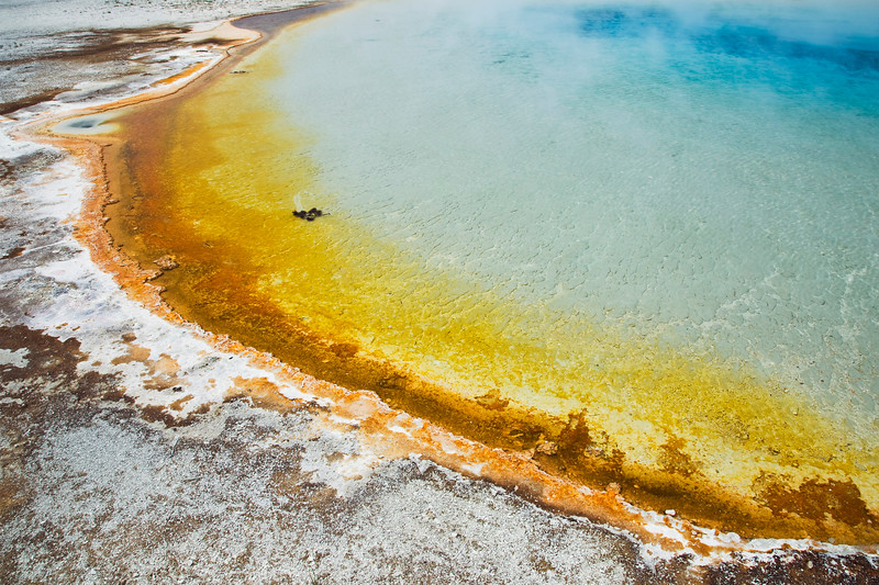 Sunset Pool, Black Sand Basin, Yellowstone National Park