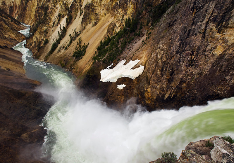 Lower Falls and Grand Canyon of the Yellowstone River, Yellowstone National Park