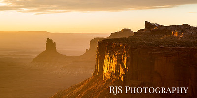 Candlestick Tower Overlook - Canyonlands NP