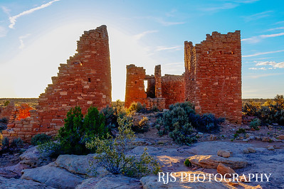 Hovenweep Evening - Hovenweep NM