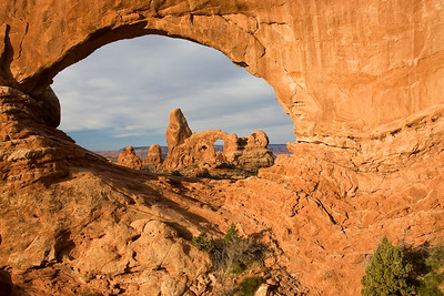 Turret Arch taken through North Window