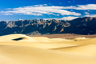 Mesquite Dunes near Stovepipe Wells, Death Valley