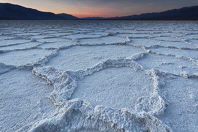Salt Flats at Sunrise