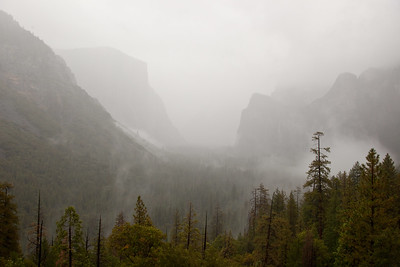 Tunnel View after the Storm