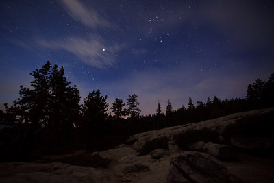 Night Time on Glacier Point