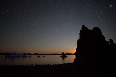 Night Time at Mono Lake