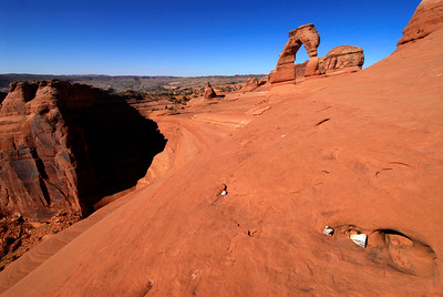 Delicate Arch, Arches National Park, Moab, Utah, USA, North America
