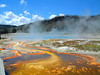 A few older digital photos of Yellowstone national park Wyoming . By Daniel P Woods
