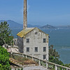 May 9, 2009 - Old Building, Alcatraz Island, San Francisco, CA.