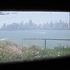 May 9, 2009 - Looking out the window at the Penitentiary, Alcatraz Island, San Francisco, CA.