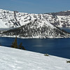 March 20, 2010. Wizard Island, Crater Lake, NP, Oregon.