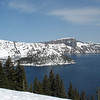 March 20, Wizard Island, Crater Lake NP, Oregon.