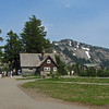 July 13, 2012.  NPS bookstore and historic lodge, Crater Lake National Park, Oregon.