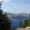 July 13, 2012.  Wizard Island, Crater Lake National Park, Oregon.