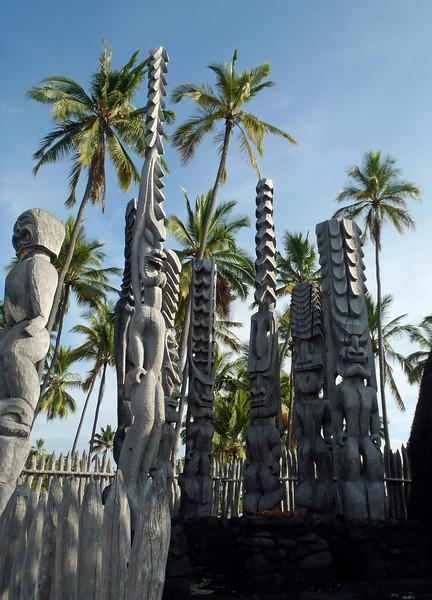 July 19, 2014.  Pu'uhonua O Honaunau National Historic Park, Hawaii Big Island