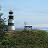 July 31, 2009.  Lighthouse at Cape Disappointment in Washington.