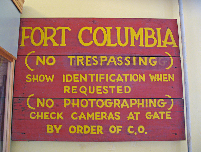 July 31, 2009.  Fort Columbia State Park in Washington.