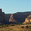 October 7, 2012.  Looking towards Colorado National Monument, NPS.  McInnis Canyon NCA, BLM, Colorado.