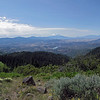 July 4, 2013.  Vista from Soda Mtn. NABA Butterfly Count.  Cascade-Siskiyou NM, Oregon.