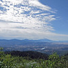 July 4, 2013.  Shasta Mtn. and Iron Gate Res. from Soda Mtn. NABA Butterfly Count.  Cascade-Siskiyou NM, Oregon.