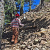 """April 13, 2014. The Siskiyou Mountain Club maintains and creates trails in the Cascade-Siskiyou NM as well as in other wild, remote and beautiful areas of the Siskiyou Mountains.  Here they are working on a trail to Pilot Rock.  They are a wonderful group.  More information: <a href=""""http://www.siskiyoumountainclub.org/"""">http://www.siskiyoumountainclub.org/</a>"""