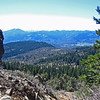 April 13, 2014.  Colstien Valley from Pilot Rock, Cascade-Siskyou NM, Oregon.