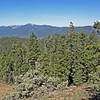 April 13, 2014.  Mt. Ashland from Pilot Rock, Cascade-Siskiyou NM, Oregon.