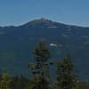 July 5, 2010.  Mt.Ashland from Pilot Rock, Cascade-Siskiyou NM, BLM, OR.