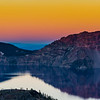 Gradient Sunset - Crater Lake National Park